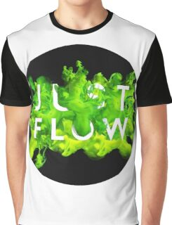 JUST FLOW (Green) Graphic T-Shirt