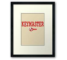 Keymaster Framed Print