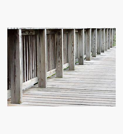 Wood Bridge Photographic Print