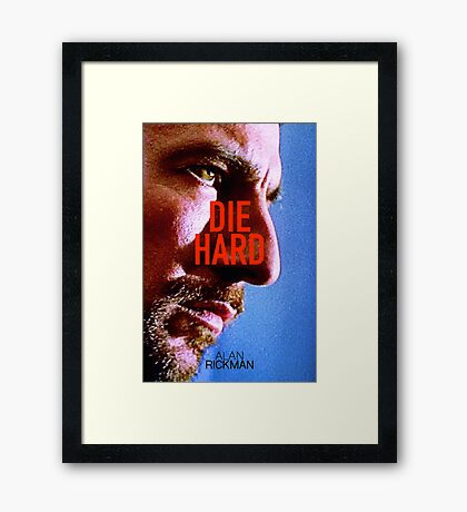 DIE HARD 22 Framed Print