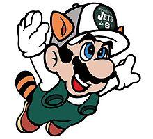 Super NFL Bros. - Jets by VectorTony