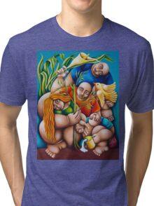 IT TAKES A VILLAGE 2 Tri-blend T-Shirt