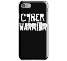 Cyber Warrior - Computer Nerd I.T. Tech Geek  iPhone Case/Skin