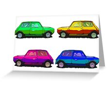Many Minis Greeting Card