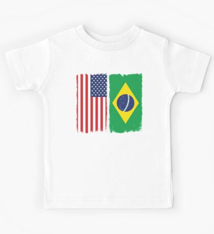 American Brazilian Kids Tee