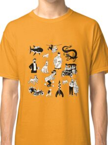 tintin collection Classic T-Shirt