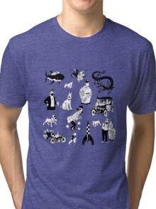 tintin collection Tri-blend T-Shirt