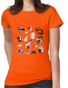 tintin collection Womens Fitted T-Shirt