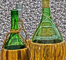bottle of wine by spetenfia