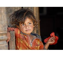 A young boy from Nepal  Photographic Print