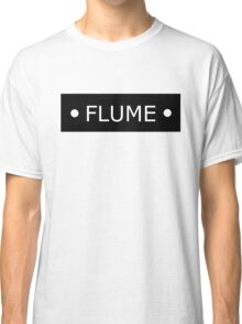Flume logo - White letters Classic T-Shirt