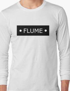 Flume logo - White letters Long Sleeve T-Shirt