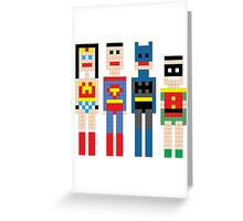 Justice League Squared MKi Greeting Card