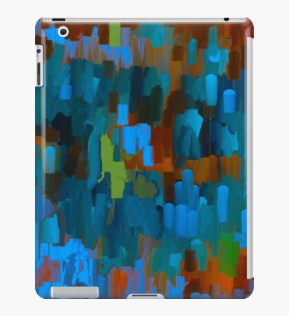 PATHWAYS ABSTRACT OIL PAINTING iPad Case/Skin