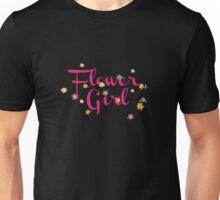 Flower Girl - Wedding Party T Shirt  Unisex T-Shirt