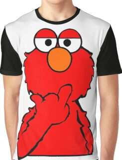 Elmo is Out of Fucks to Give Graphic T-Shirt