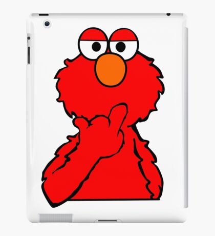 Elmo is Out of Fucks to Give iPad Case/Skin