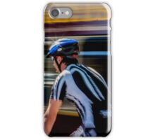 Urban cyclist iPhone Case/Skin