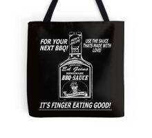 EF GEIN BOTTLE BBQ SAUCE Tote Bag