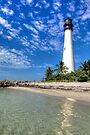 Cape Florida Lighthouse by njordphoto