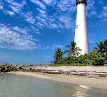 Cape Florida Lighthouse by Bill Wetmore
