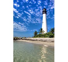Cape Florida Lighthouse Photographic Print