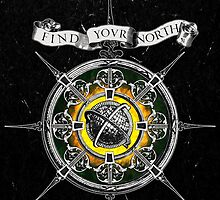 Find your North (black version) by DVerissimo