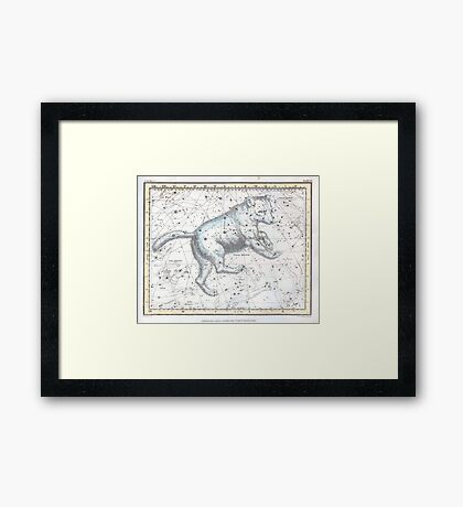 Celestial Ursa Major (1822) Framed Print