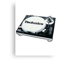 Technics 1200 Vintage  Canvas Print