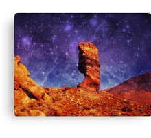 First to the Stars Canvas Print