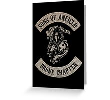 Sons of Anfield - Bronx Chapter Greeting Card