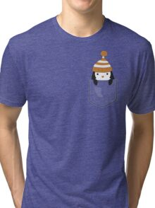 Pocket Penguin Tri-blend T-Shirt