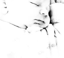 Beautiful sleeping baby by Patricia Taylor Photography