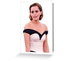 Emma Watson Greeting Card