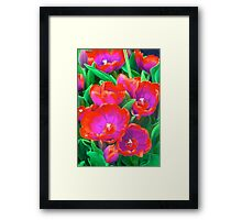 Fantasy Tulip Abstract Framed Print