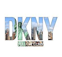 DKNY Yellow Claw - Tranparent by luigi2be