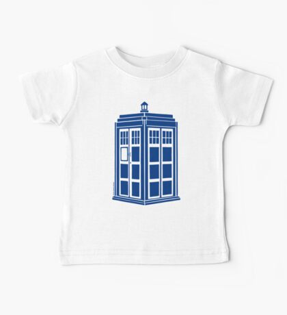 Colour Me Tardis Baby Tee