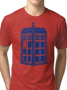 Colour Me Tardis Tri-blend T-Shirt