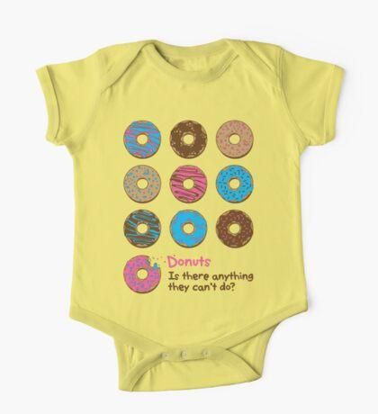 Mmmm donuts! One Piece - Short Sleeve
