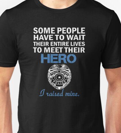 Police Officer's Mom Unisex T-Shirt