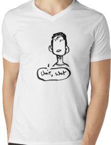 Wait.. What? Mens V-Neck T-Shirt