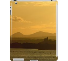 Twilight over Derryveagh mountains - with O'Doherty Castle from Inch Level iPad Case/Skin