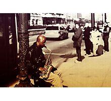 Musician Photographic Print