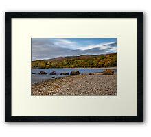 Milarrochy Bay On Loch Lomond Framed Print