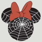 Spider Web Minnie Mouse by sweetsisters