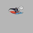 Batman Can Fly! by janeemanoo
