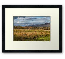 Scottish Scenery At Gartocharn Framed Print