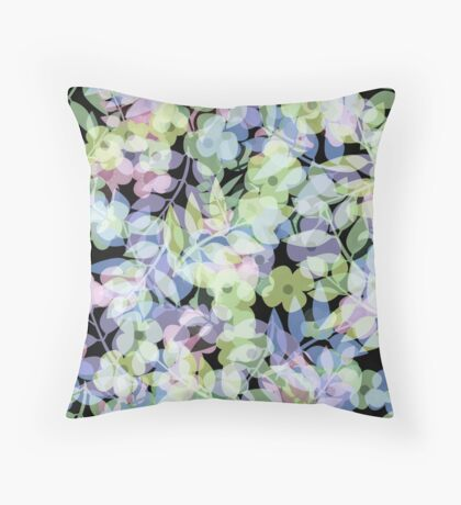 The leaf fall . 1 Throw Pillow