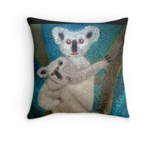 Koalas #2, Australia  Throw Pillow