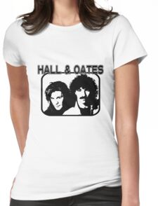 Hall & Oates Womens Fitted T-Shirt
